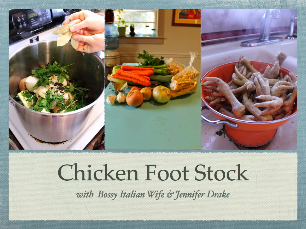 chicken feet stock 1 How to Make Stock from Chicken Feet