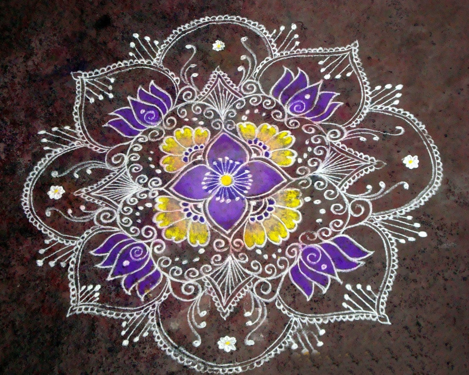 rangoli designs wallpaper stars - photo #35