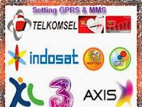 Cara Setting Gprs Telkomsel,XL dan Indosat