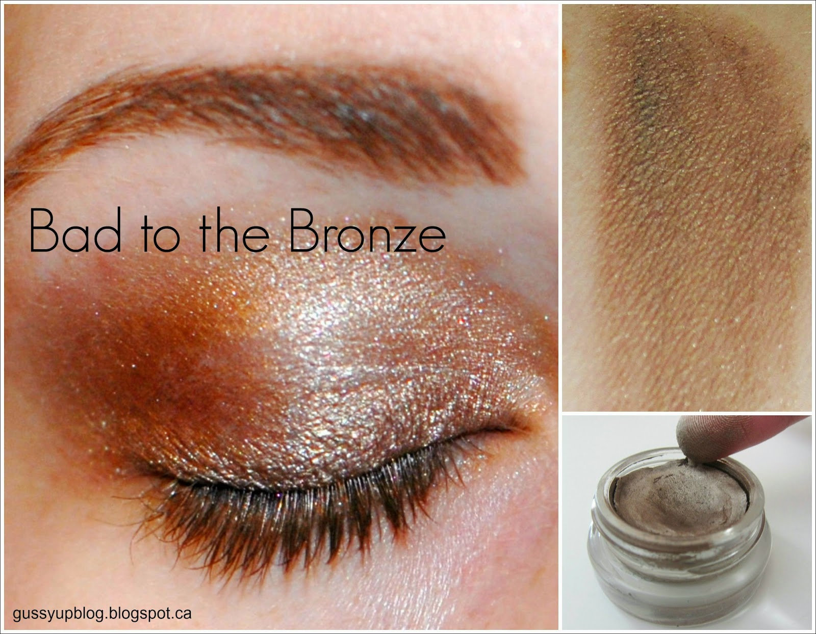 Maybelline Color Tattoo 24 Hour Eyeshadow, Bad to the Bronze, Review and Swatches