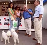 Con Eduardo Riestra, editor y padrino de Kim