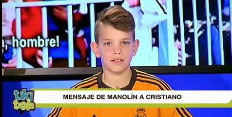 Manolin,bocah yang di bully gara-gara jersey ronaldo
