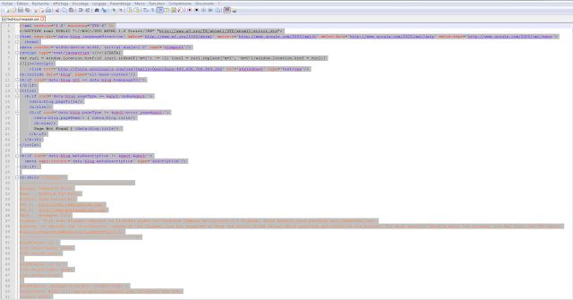Conseil Iscomigoo #2: Copier/coller le code HTML de votre template