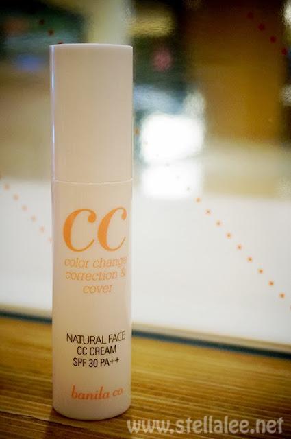 Banila co. Natural Face CC Cream
