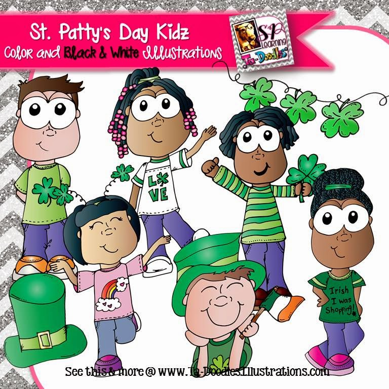 https://www.teacherspayteachers.com/Product/Saint-Patricks-Day-Kids-Clip-Art-1711233