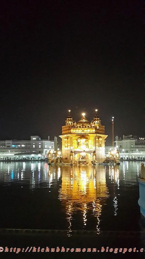 Amritsar golden temple amritsar