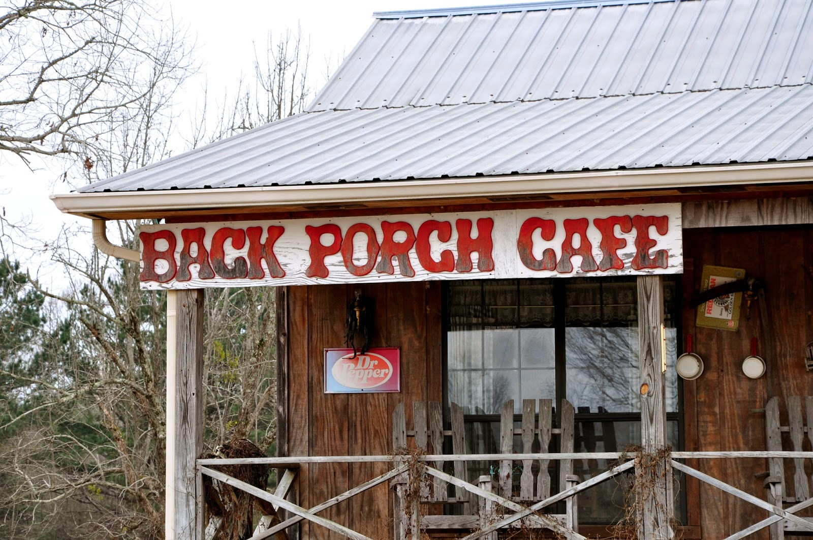 Back Porch Cafe Wayside Inn Hickory Ridge Studio