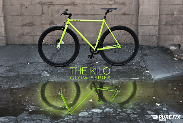 The Kilo: bicicleta brilha no escuro