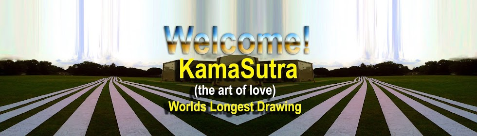 """Kama Sutra"" Worlds Longest Drawing by an individual- Artist SinGh"