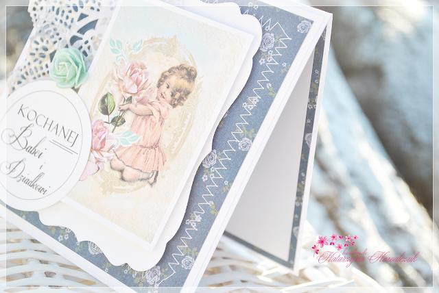 kartki dla dziadków scrapbooking