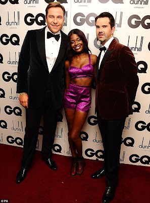 Azealia Banks with kind, Boyfriend David Holmes