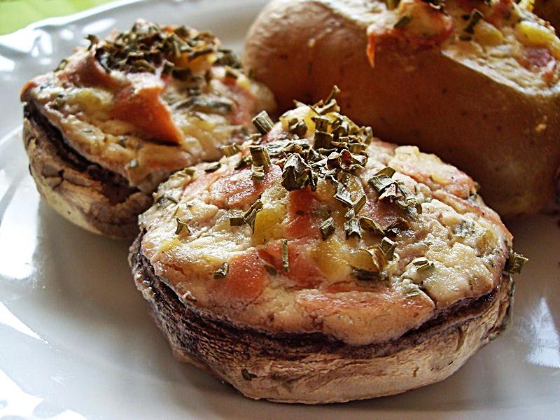 ma cuisine v g talienne pommes de terre et champignons de