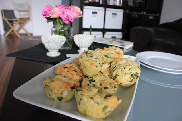 Muffin Rucula Ziegenkäse