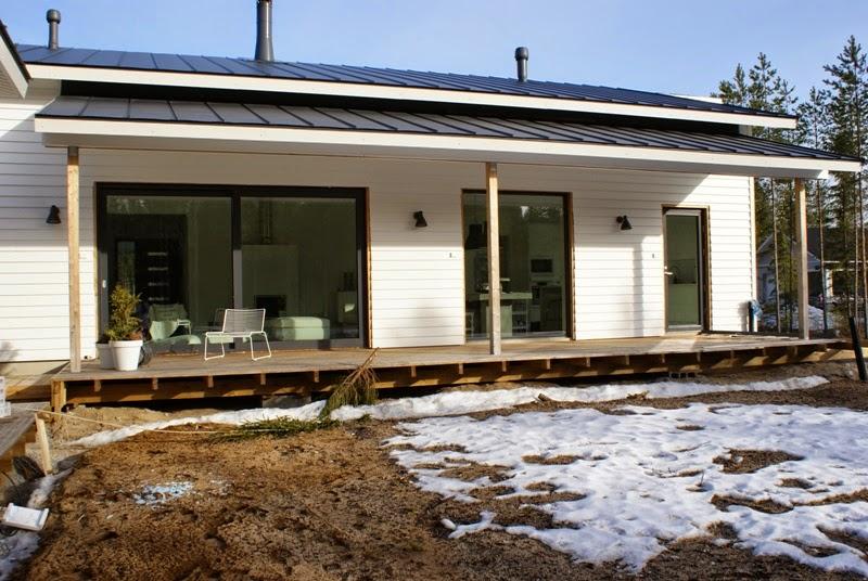 vinyyliverhous, moderni talo, liukuovi-ikkuna, domus ikkunat