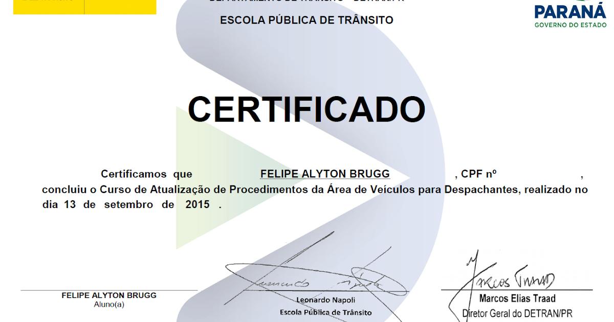 BRÜGG: Despachantes recebem certificado do Curso de Atualização ...