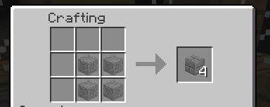 Minecraft как сделать каменный кирпич фото 688