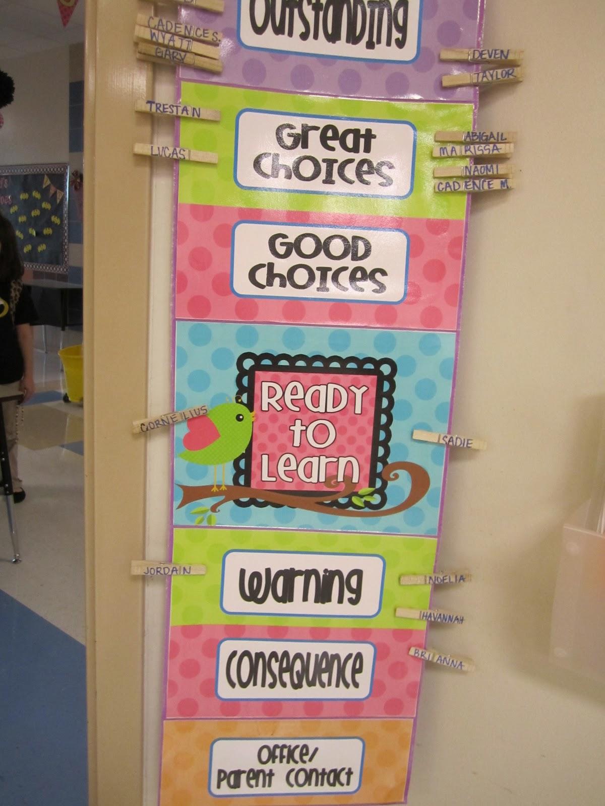 Classroom Management Ideas For First Grade : Behavior ideas for first grade teachers