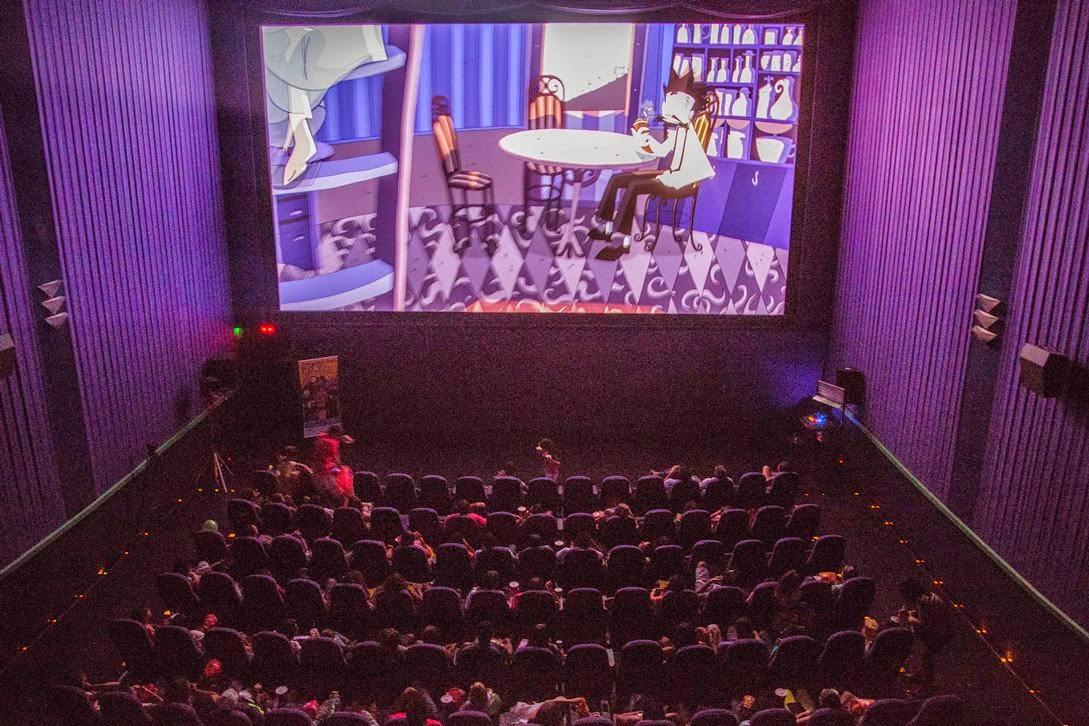 Magia Da Telona Sala De Cinema Tela Plana -> Imagem De Sala De Cinema