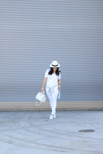 simplyxclassic, all white outfit, grey and white outfit, saint laurent handbag, ysl bag, chucks, converse, kicksusa, dl1961, mydlmoment, jcrew, gap, ootd, mom blogger, fashion blogger, orange county, blogger