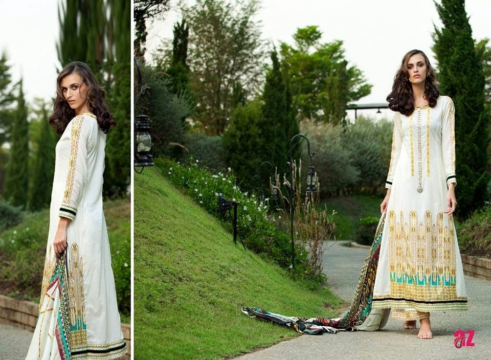 Mahiymaan Lawn Designs for Girls