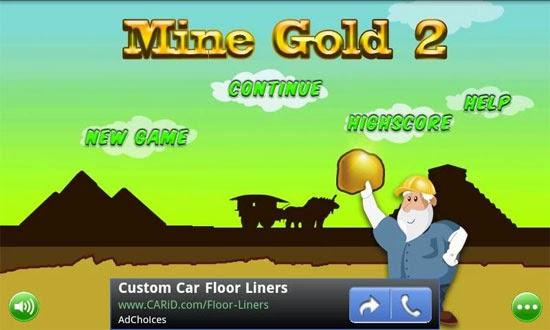 Đào vàng gold miner 2