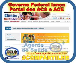 portal%2Bdos%2BACS%2Be%2BACE Governo federal lança Portal EXCLUSIVO para os ACS e ACE