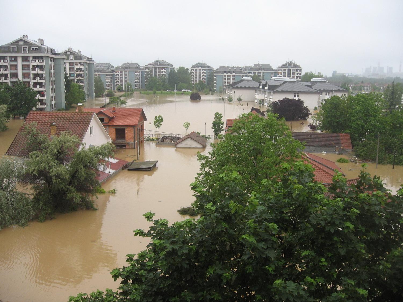 Voda koja je potpila čitave kuće