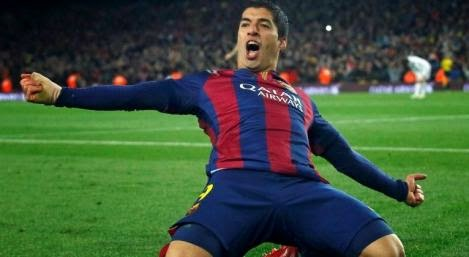Luis Suarez Made His Mark