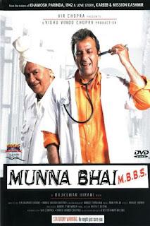 Munna Bhai (2003) Hindi Movie 720p hevc HDRip 800MB