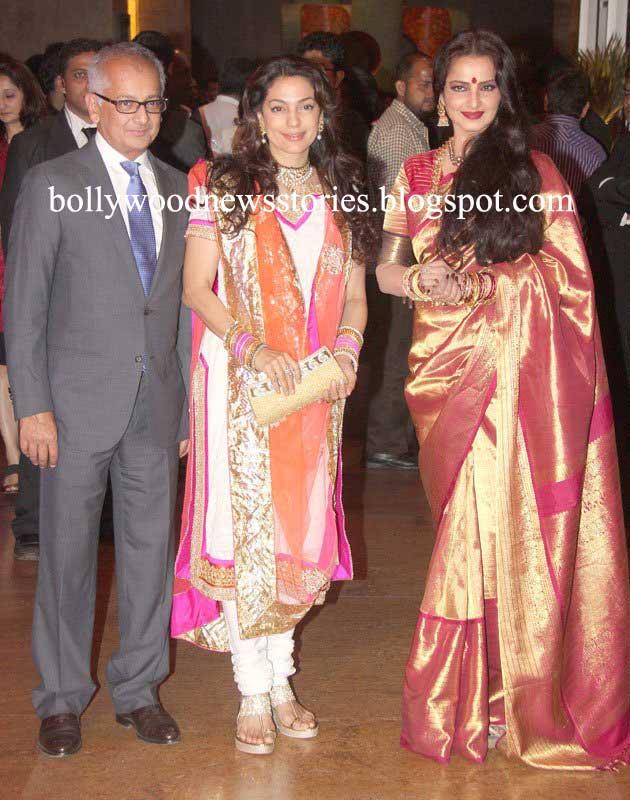 Latest News Ritesh Deshmukh Genelia Wedding Reception Pictures