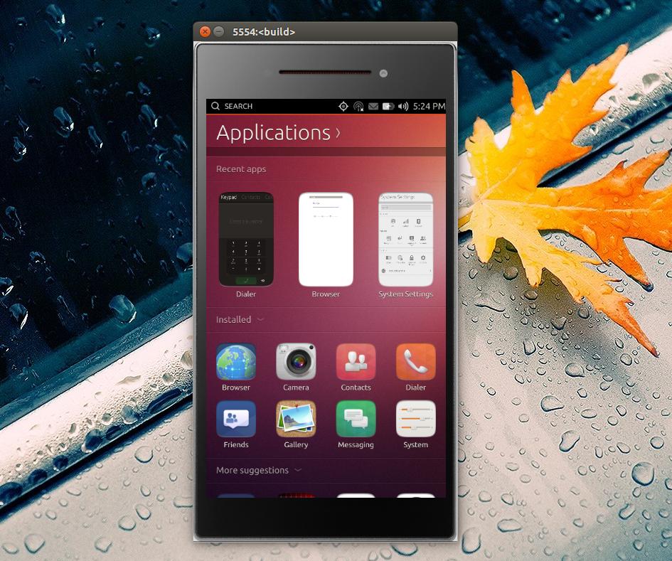 Ubuntu Touch x86 Emulator