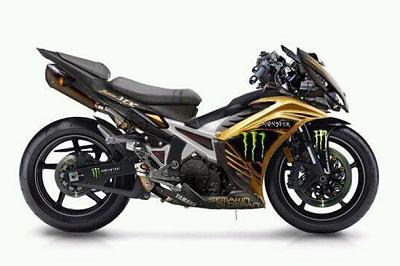 Foto Modifikasi Motor Yamaha Jupiter MX Terbaru 2015