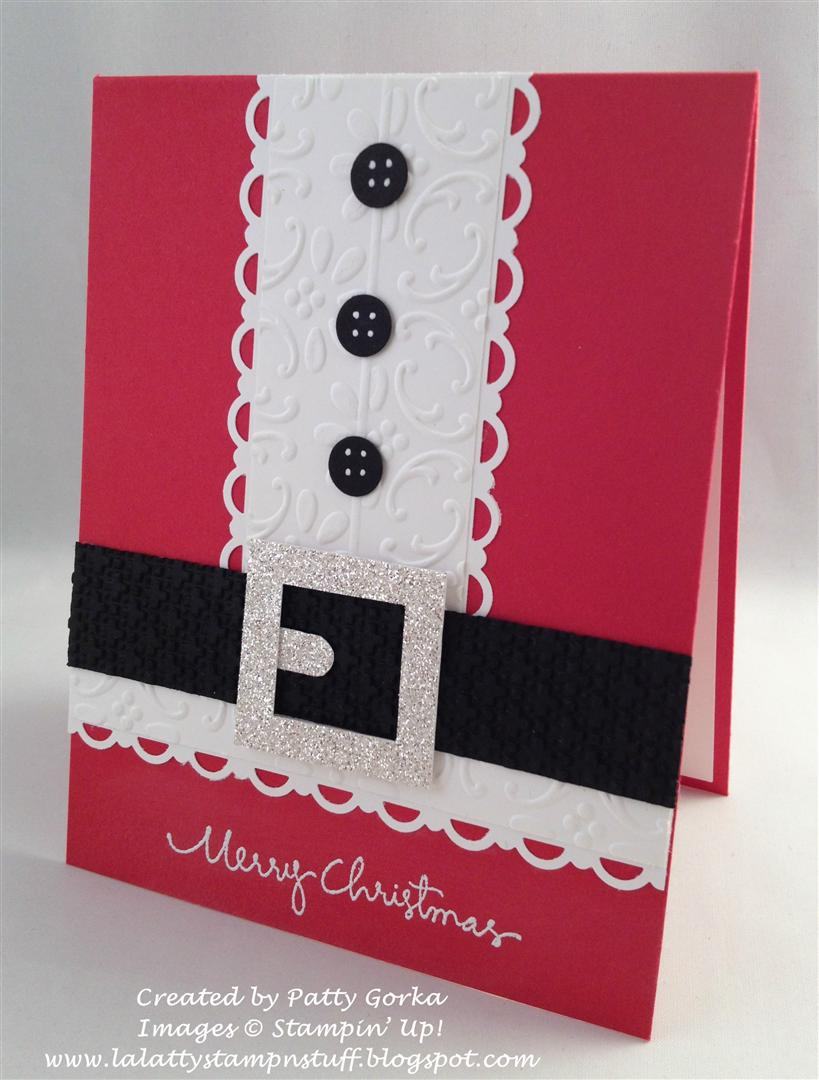 Lalatty stamp 39 n stuff 52 christmas card throwdown for Giant christmas card ideas