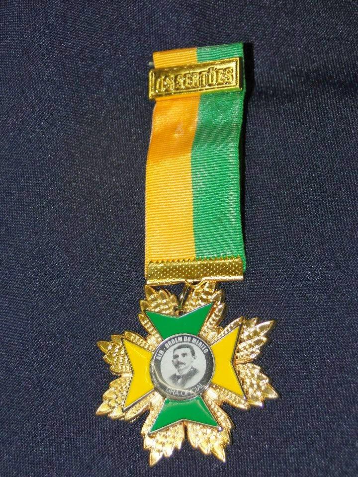 Medalha Gran Oficial Os Sertões