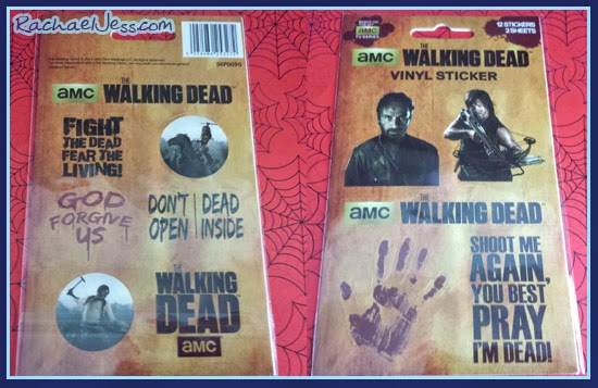 Infinity Crates - Walking Dead Vinyl Stickers