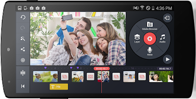 kine master - Membuat Video Dari Foto Android