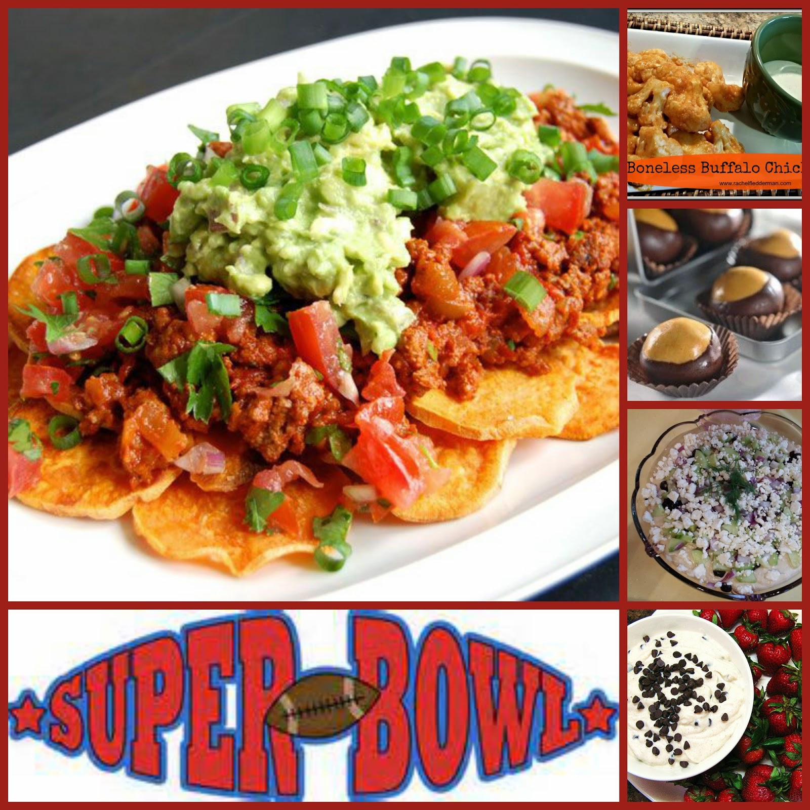 Clean Eating Super Bowl Dishes