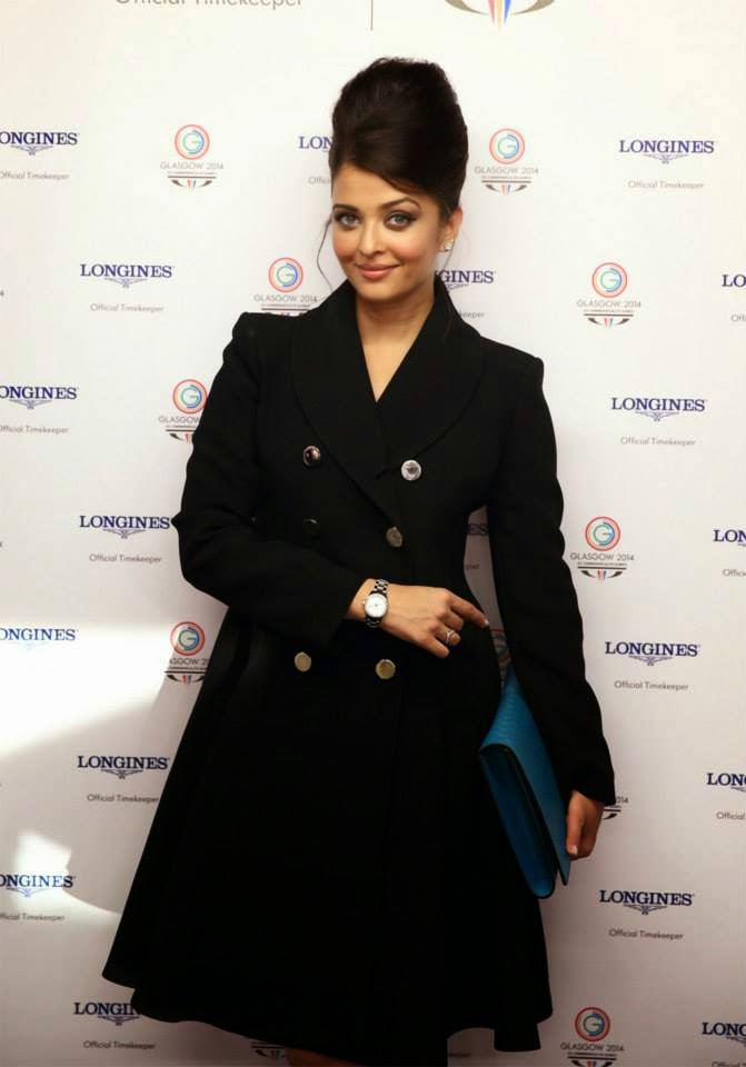 Aishwarya Rai at the Opening Ceremony of Glasgow 2014 Commonwealth Games