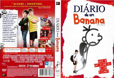 Filme Diário De Um Banana DVD Capa
