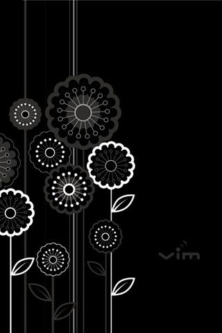 BlackBerry Wallpaper Black Wires