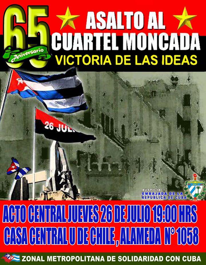 65 ANIVERSARIO ASALTO AL CUARTEL MONCADA