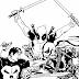 The Punisher VS Deathstroke VS Deadpool Inks