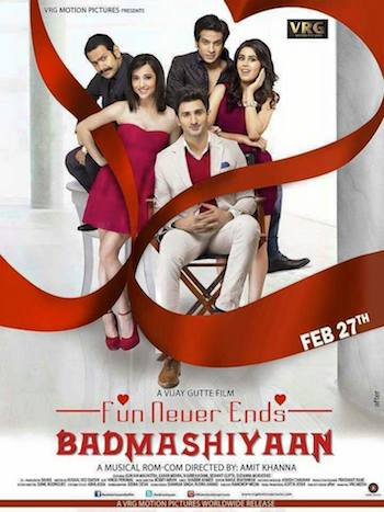 Badmashiyaan (2015) Hindi Web HDRip 700MB