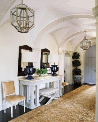 Unexpected Interiors: Modern English-Tudor Style