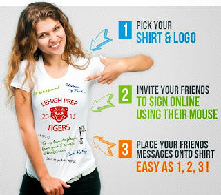 Win a Customized T-Shirt