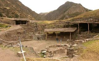 Sitio arqueológico Chavín de Huántar en la provincia de Huari en el departamento de Ancash. Foto: ANDINA/ Archivo/ Héctor Vinces.