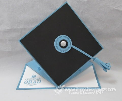http://www.frenchiestamps.com/2014/04/graduation-easel-cap-card.html