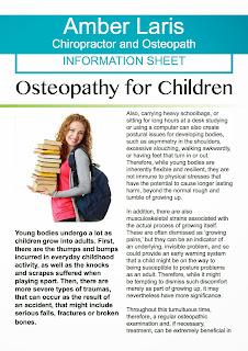 Amber Laris, Adelaide osteopath