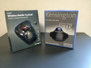 軌跡球 Kensington Orbit Trackball With Scroll Ring (72337) & Wireless Mobile Trackball (K72352US)