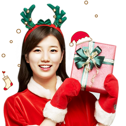 BAE SUZY MISS A 2012 CHRISTMAS GIRL